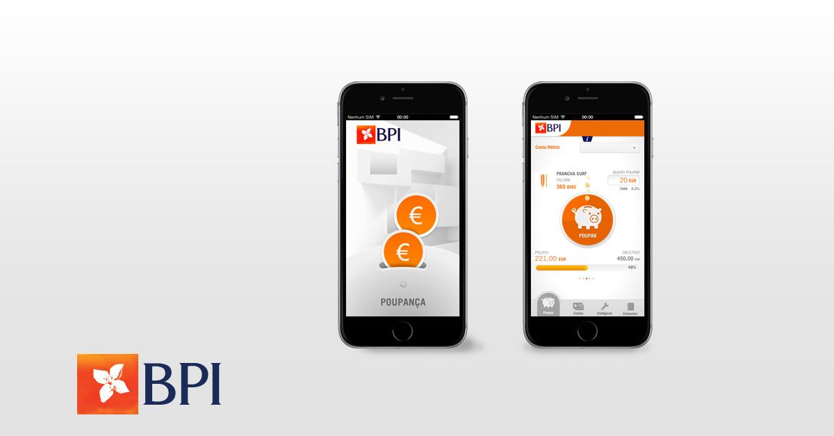 App BPI Poupança