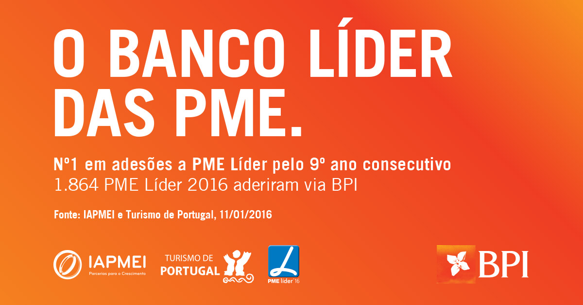 BPI | PME Líder 2016