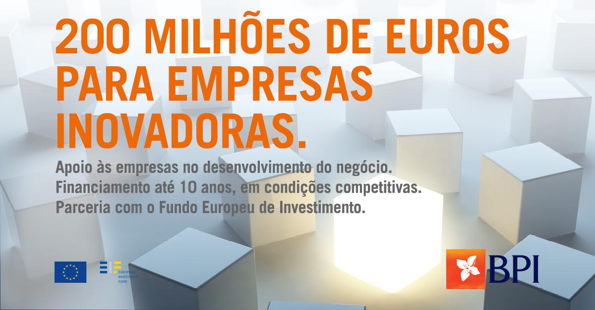 Banco BPI | Empresas | Linha BPI/FEI Inovação III