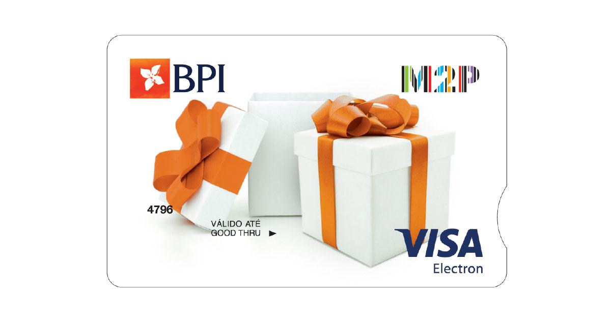 Cartões Pré-pagos BPI | BPI Cash Presente