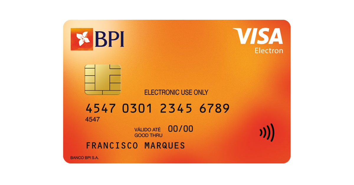 Cartão de Débito BPI Electron