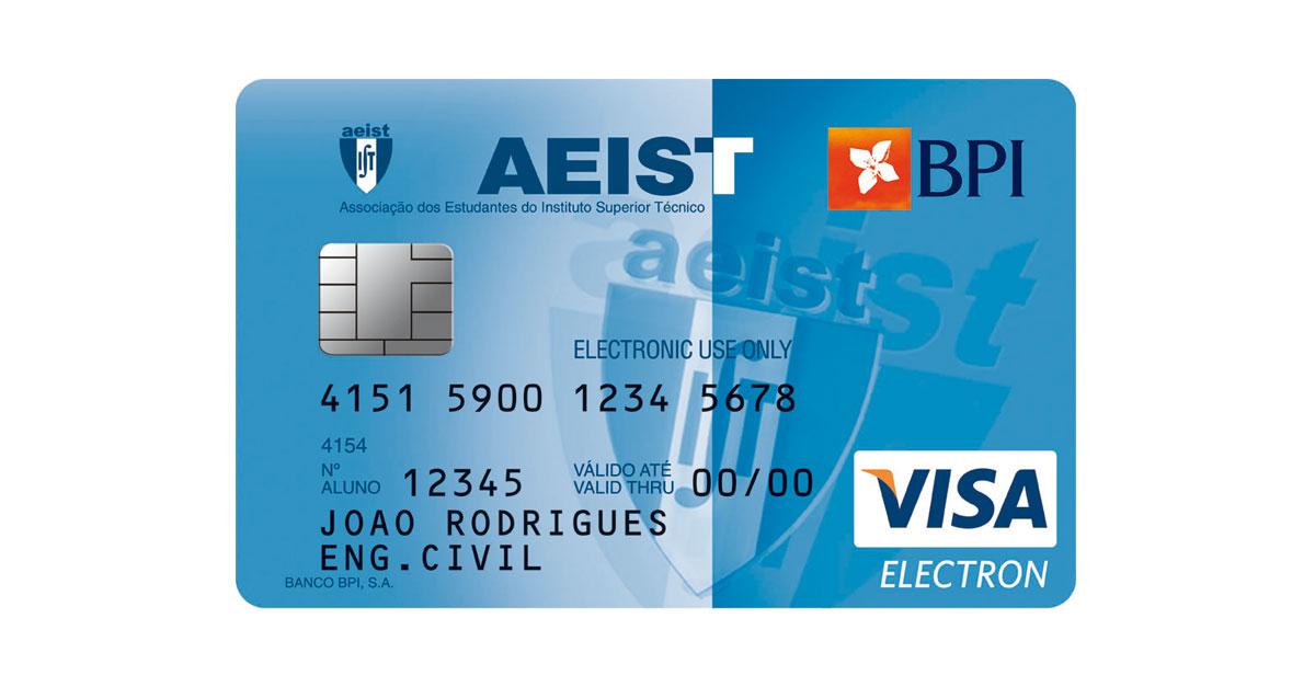 Cartão de Débito BPI AEIST