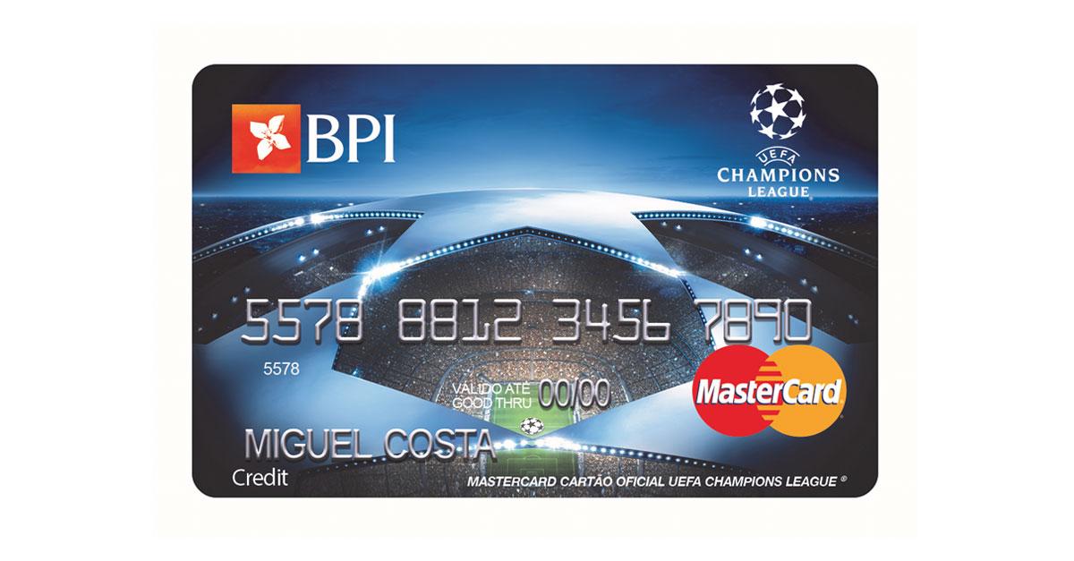 Cartão de Crédito BPI Campeões