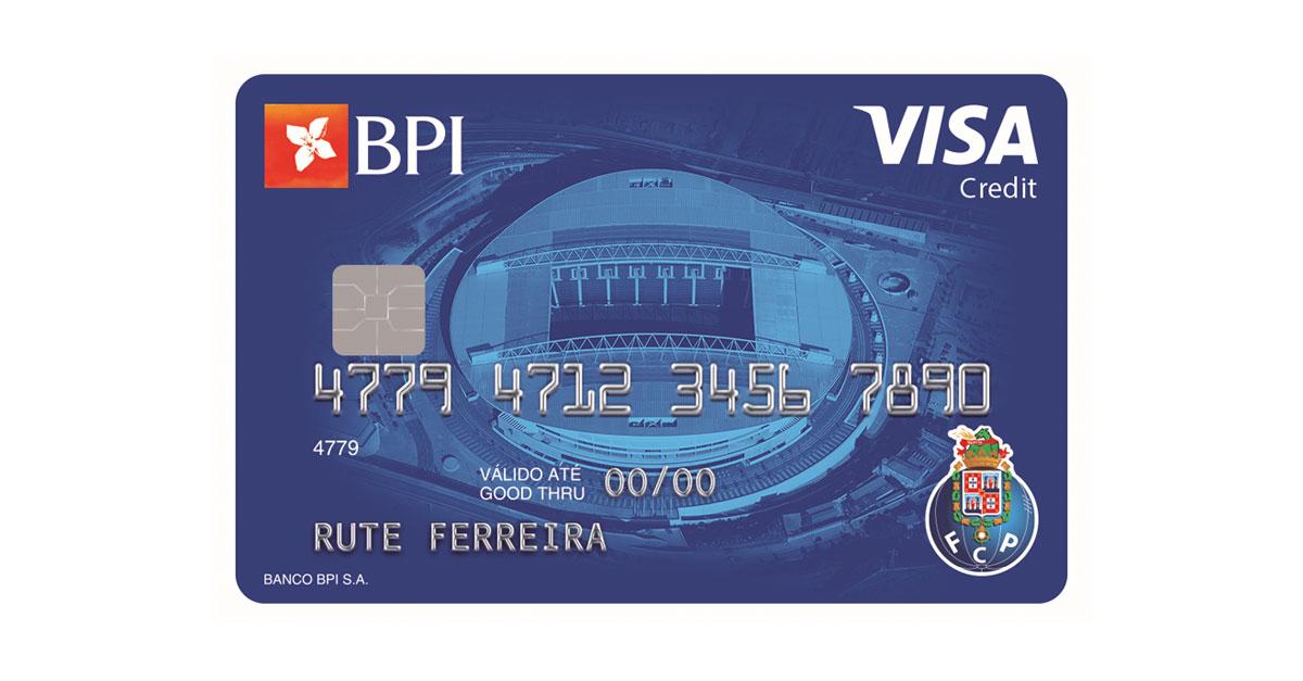 Cartão de Crédito BPI FC Porto