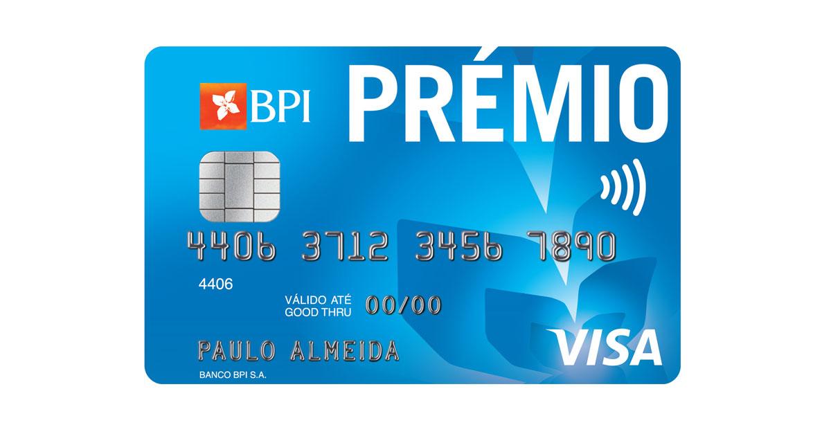 Cartão de Crédito BPI Prémio