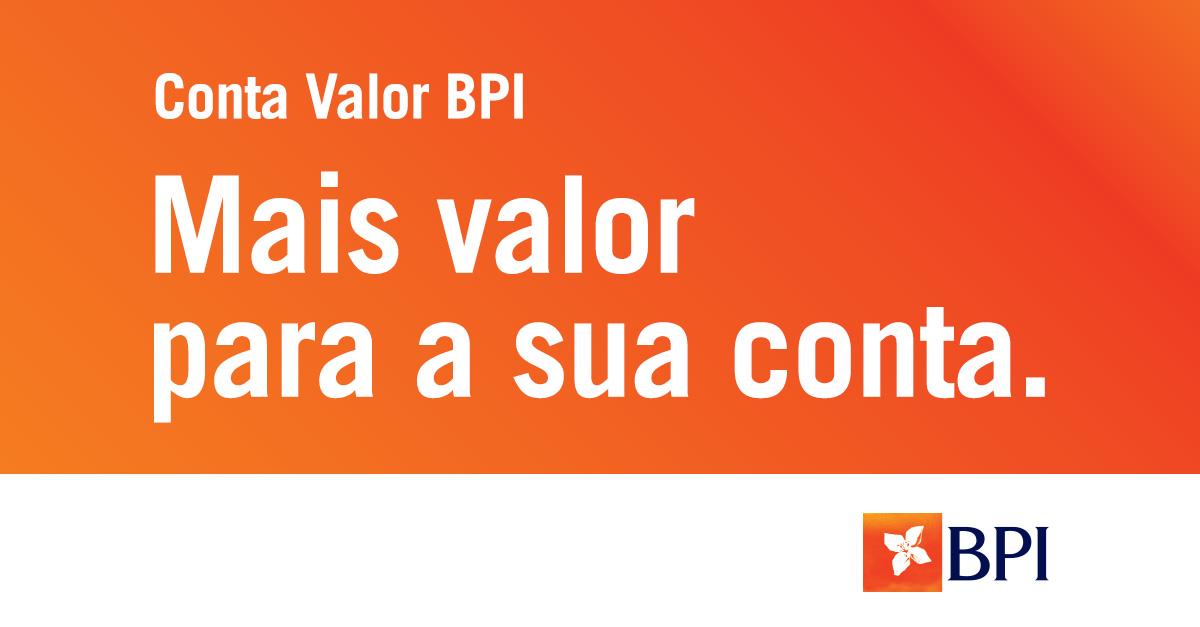 Banco BPI   Contas à Ordem   Conta Valor BPI