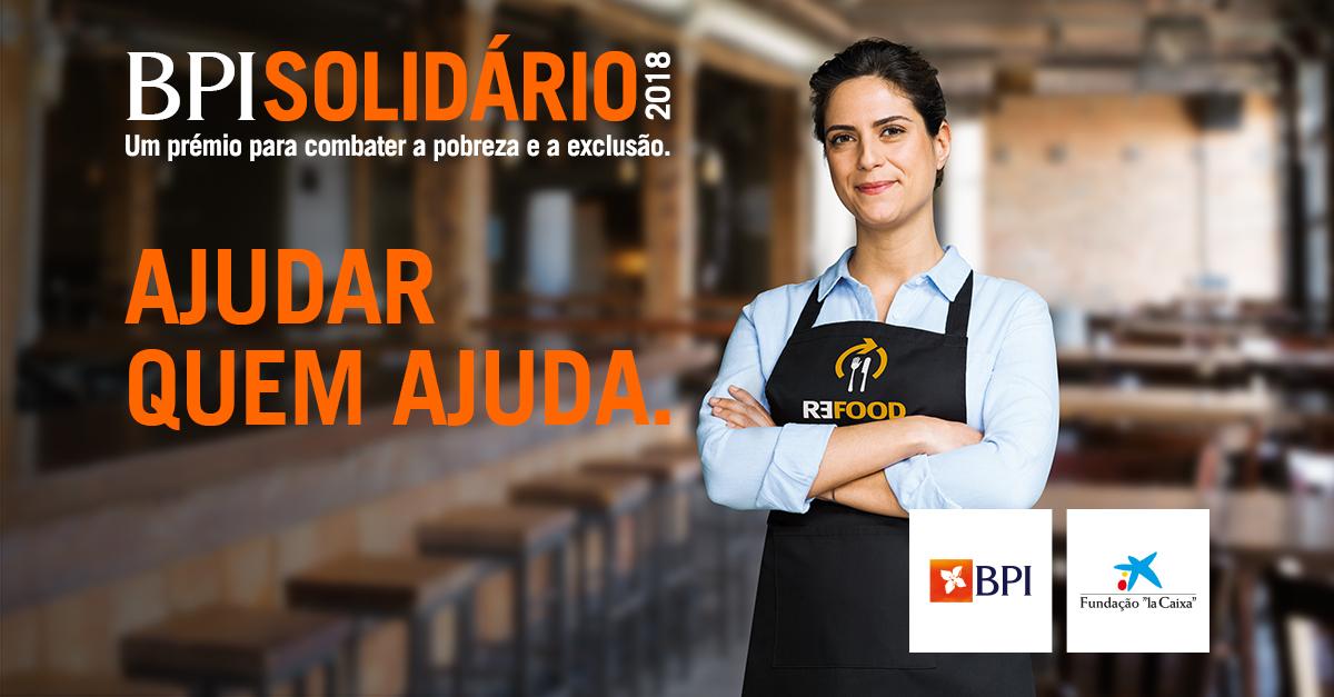 Banco BPI | Responsabilidade Social | Prémio BPI Solidário 2018