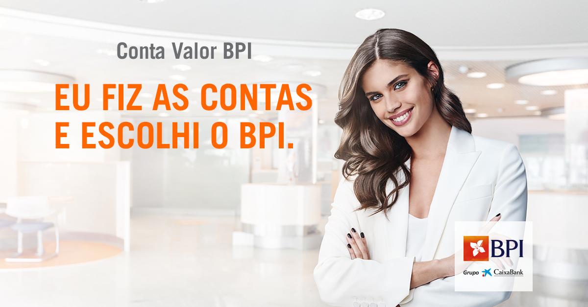Banco BPI | Contas à Ordem | Conta Valor BPI