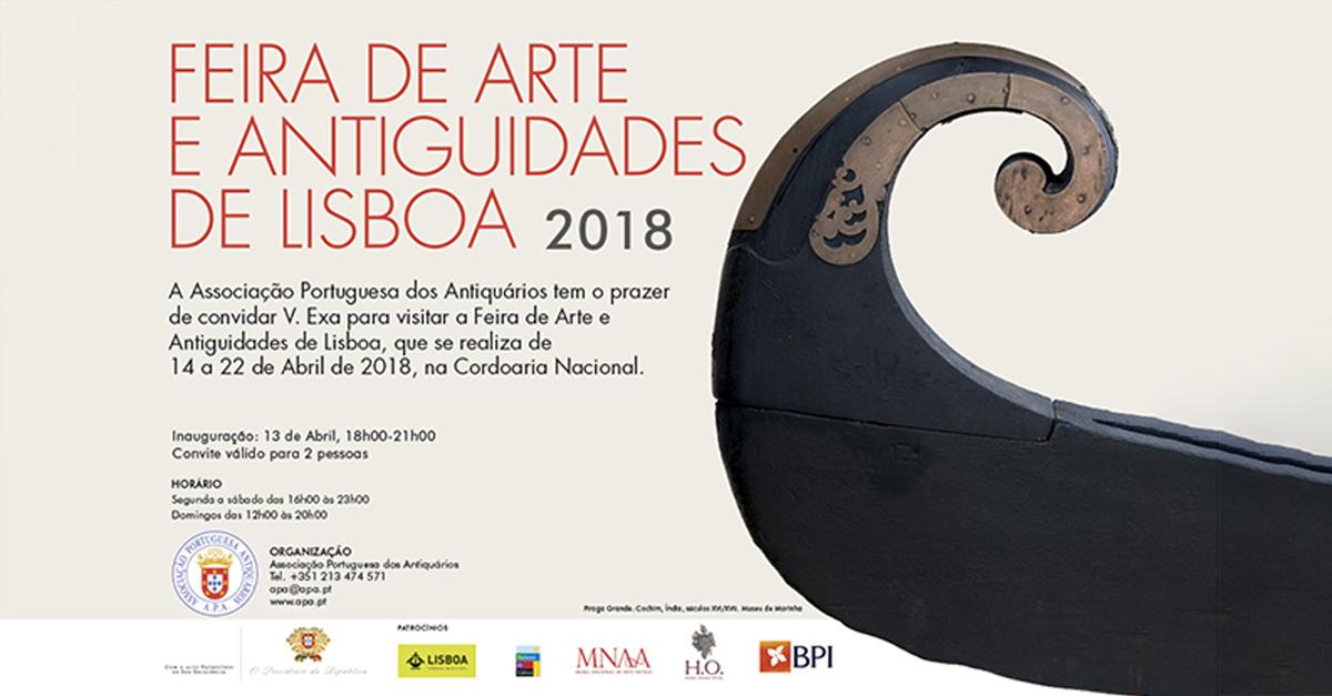 Feira de Artes e Antiguidades de Lisboa 2018 | Banco BPI