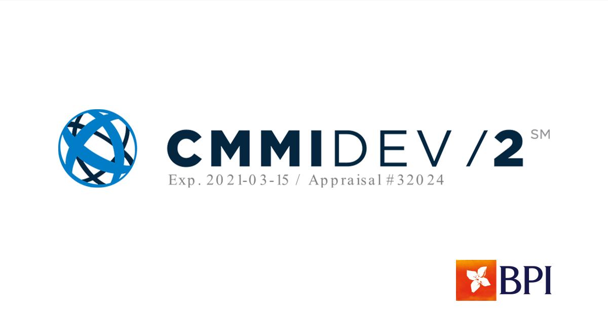 BPI é o único banco português certificado pelo CMMI Institute