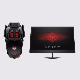 OMEN Desktop 880-148np com Monitor OMEN by HP 25