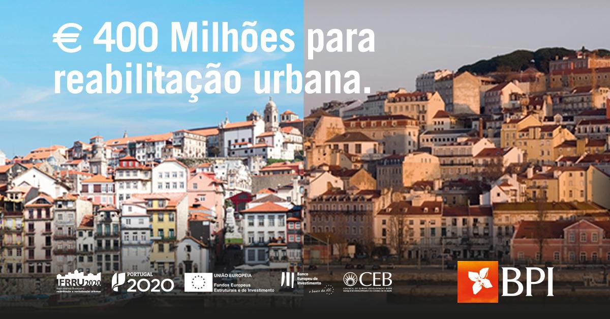 Banco BPI | Empresas | BPI/IFRRU 2020 - Reabilitação Urbana
