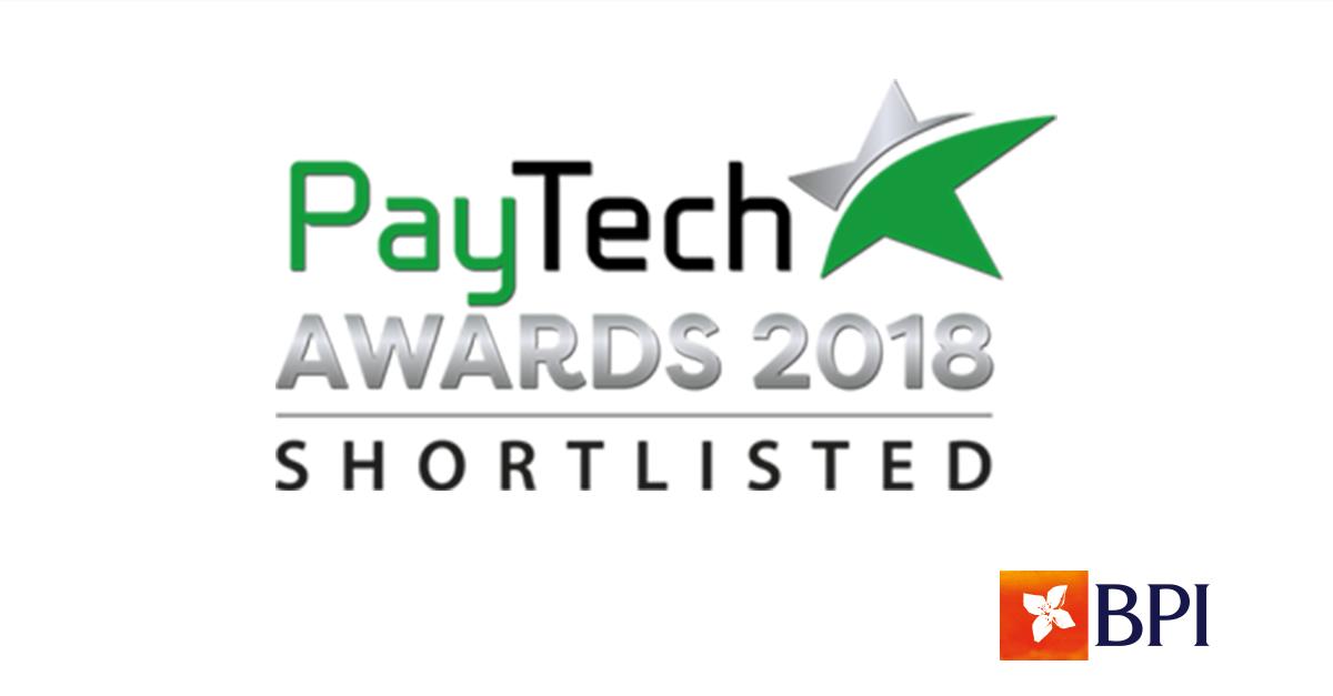 PayTech Awards 2018 | Banco BPI