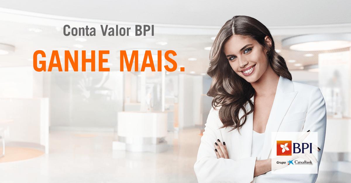 Conta Ordenado | Conta Valor BPI