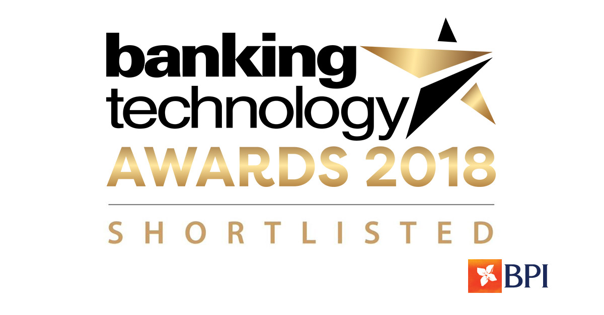 Banco BPI | Banking Technology Awards 2018