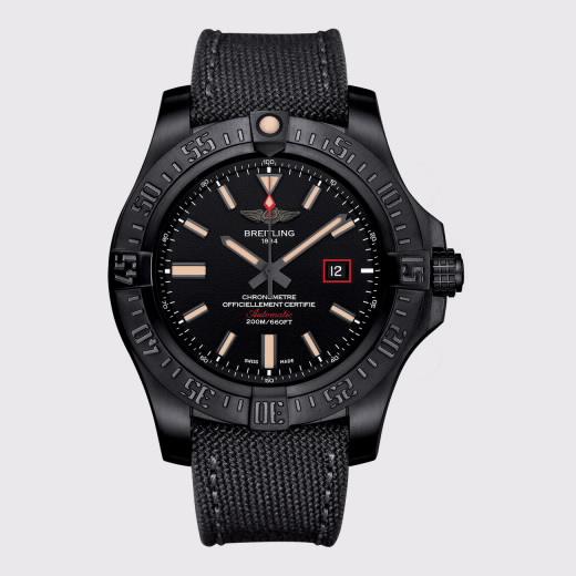 2ae19de2724 Relógio Breitling Avenger Blackbird 44