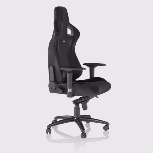 Cadeira noblechairs EPIC Real Leather Preto