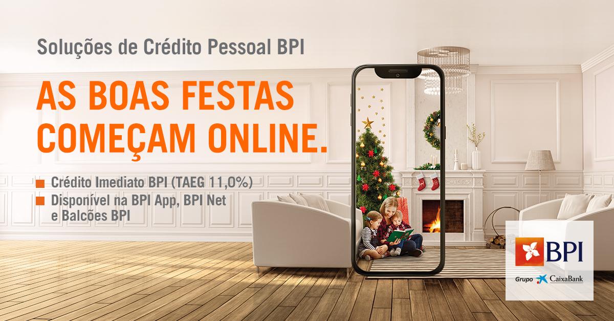 Banco BPI   Crédito Pessoal   Crédito Imediato BPI