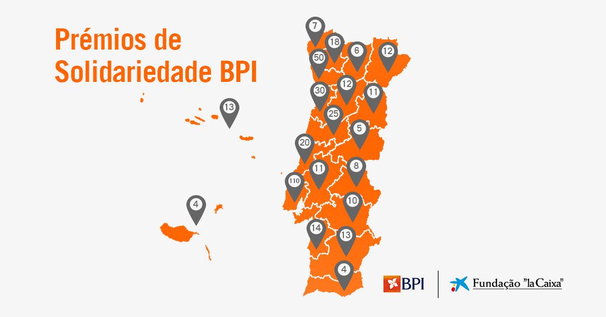Prémios de Solidariedade BPI ajudam 105 mil pessoas | Banco BPI