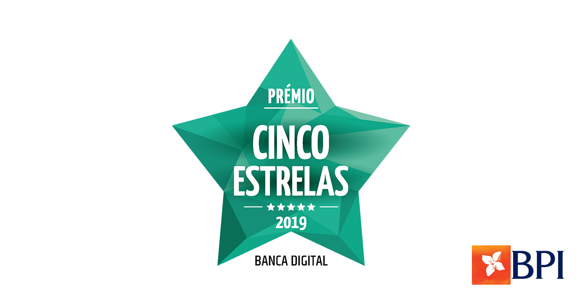BPI vence Prémio Cinco Estrelas na categoria de Banca Digital | Banco BPI