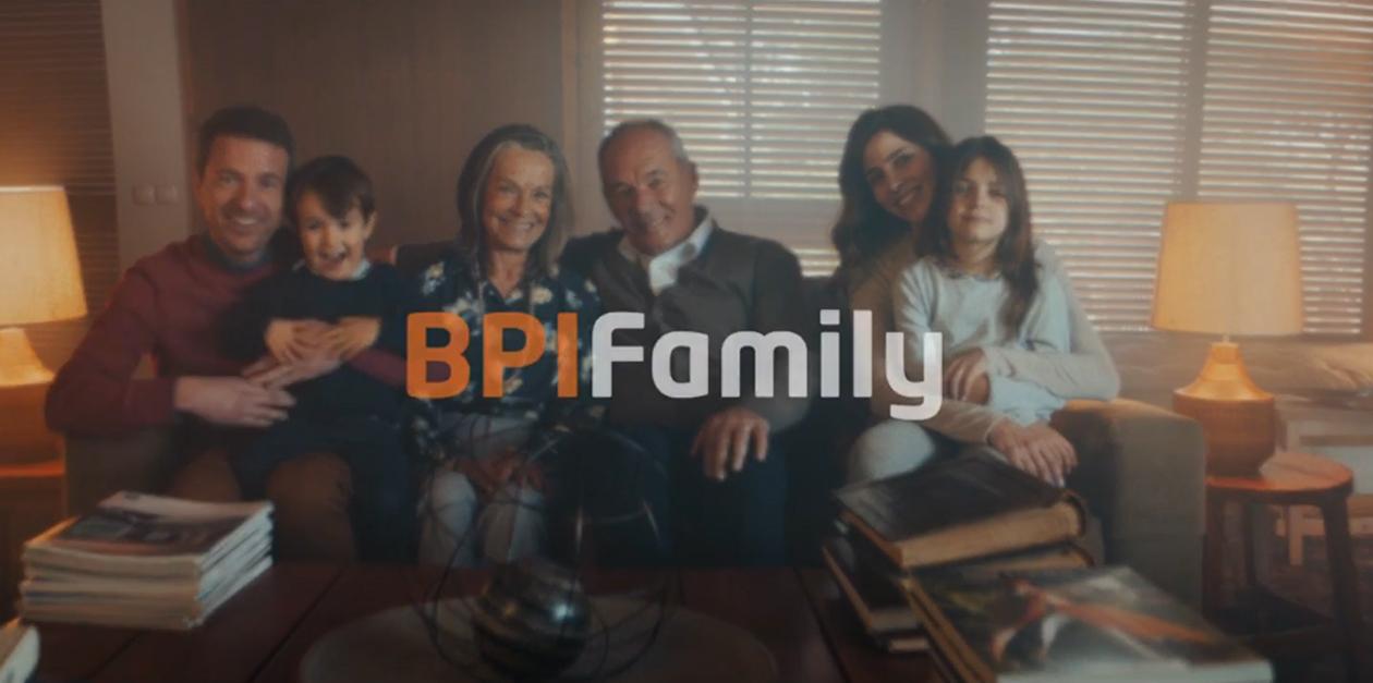 BPI lança campanha BPI Family   Banco BPI