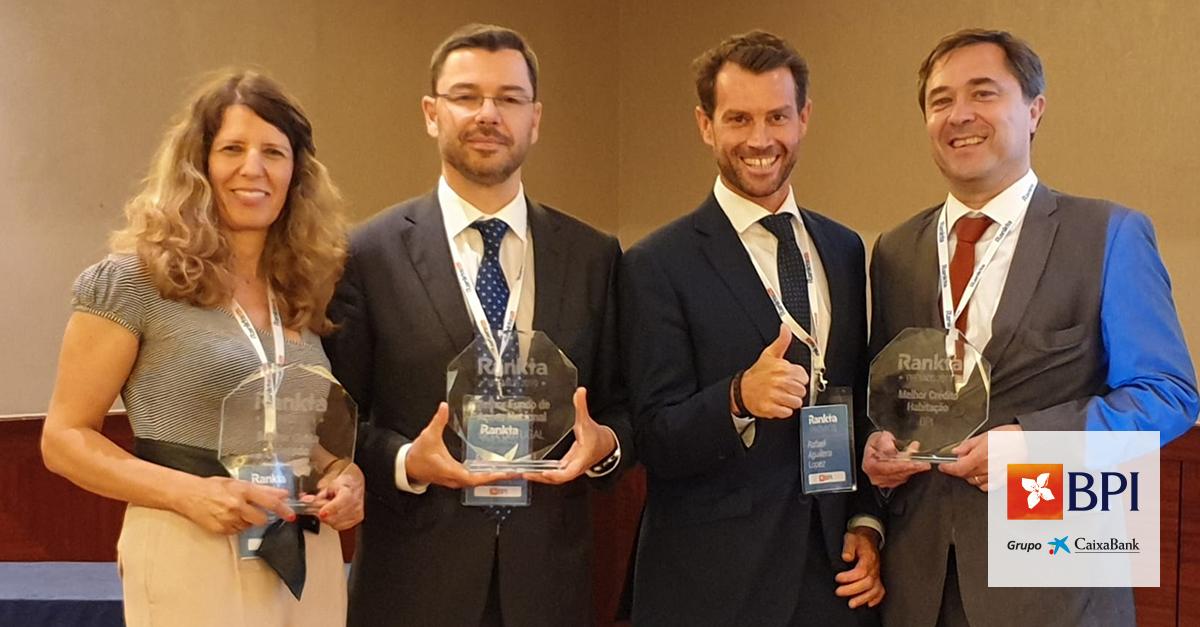 BPI vence três galardões na 1ª edição dos Prémios Rankia Portugal | Banco BPI