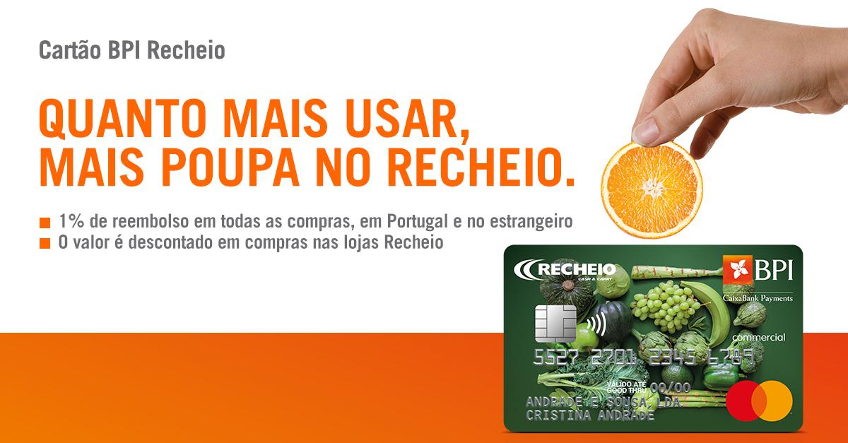 BPI e Recheio lançam cartão de crédito | Banco BPI