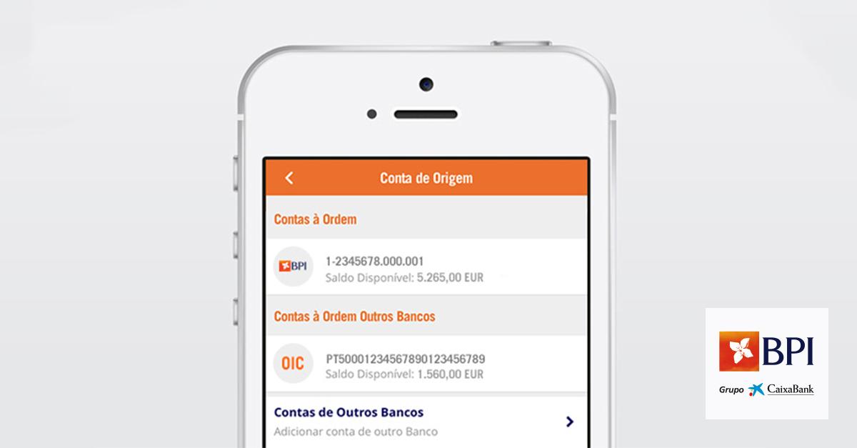 Open Banking - BPI App já permite iniciar transferências em contas de outros bancos | Banco BPI