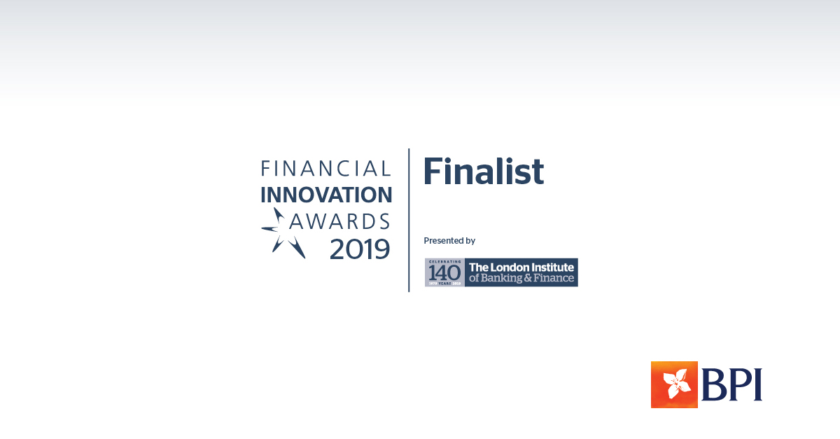 Banco BPI | Financial Innovation Awards 2019