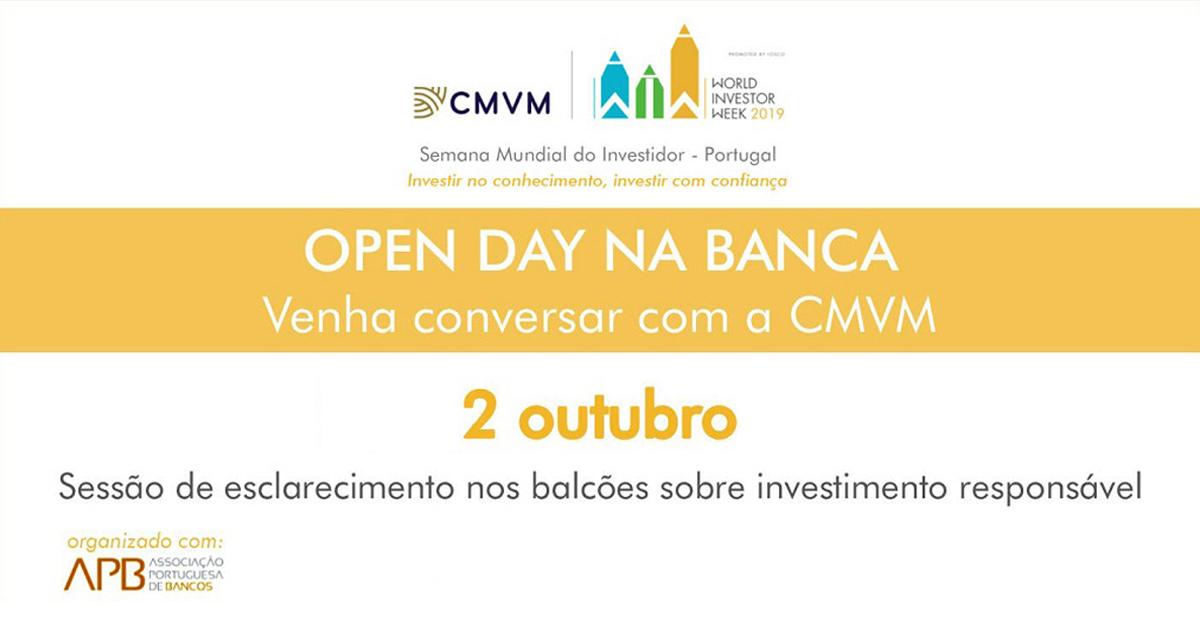 Sessões de Esclarecimento CMVM e APB em Open Day na Banca | Banco BPI