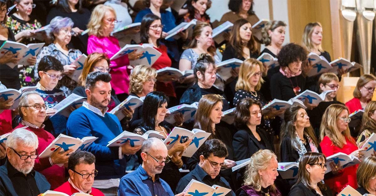 200 cantores amadores interpretam O Messias participativo   Banco BPI