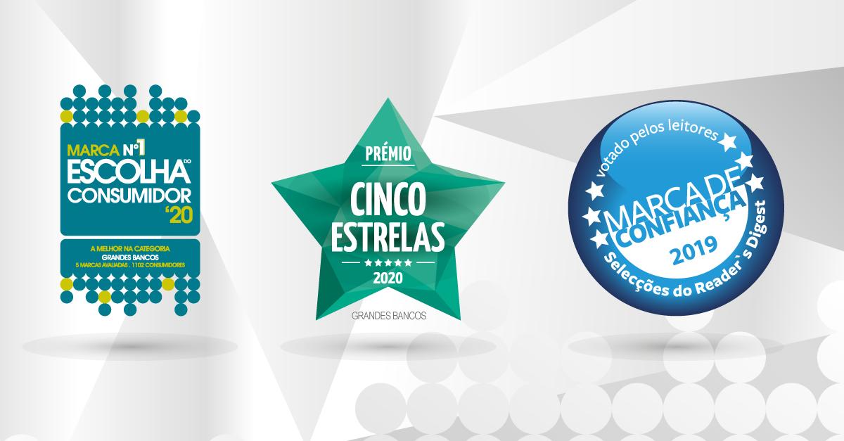 BPI eleito Nº 1 nos Prémios Escolha do Consumidor e Cinco Estrelas | Banco BPI