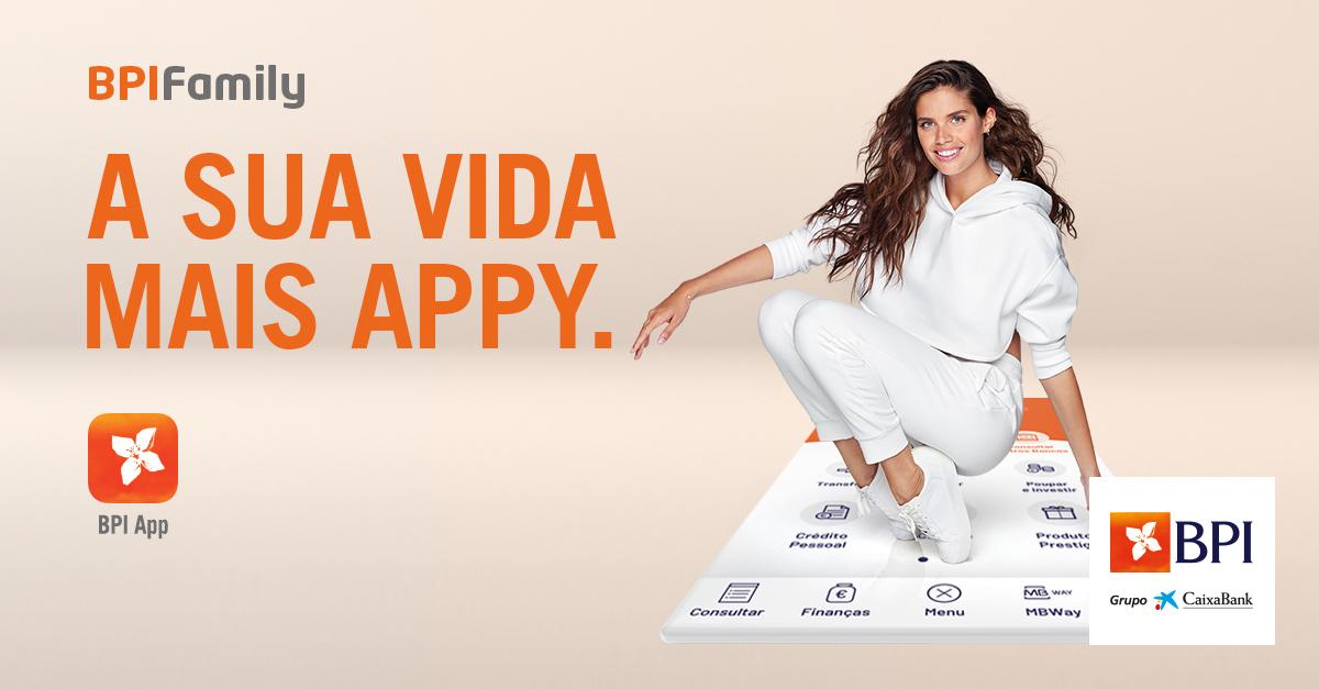 Sara Sampaio 'Appy' com o BPI | Banco BPI