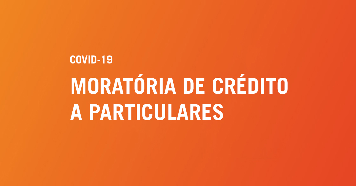 Moratória de Crédito a particulares