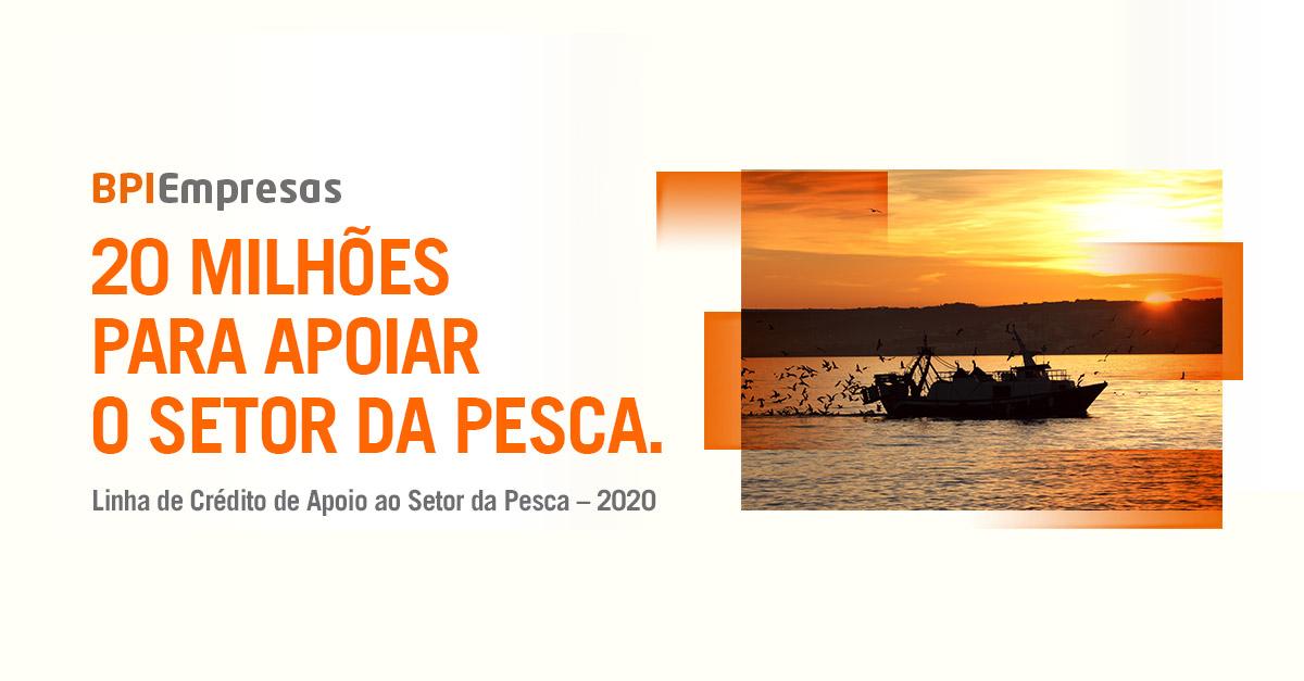 BPI lança linha de crédito de 20 milhões para apoiar o setor da pesca