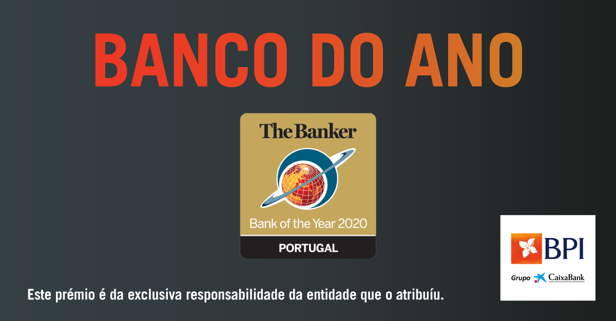 BPI eleito Banco do Ano 2020 pela revista The Banker | Banco BPI